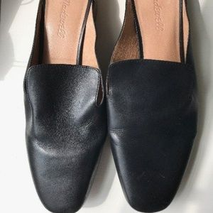 Madewell Gemma leather Mule black